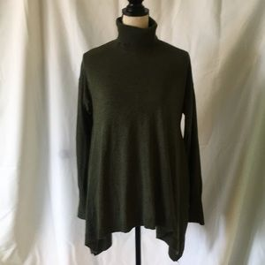 Mossimo olive green sweater Sz M